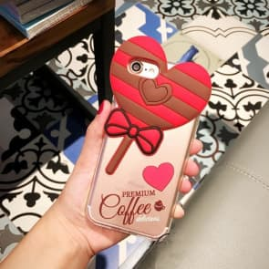 Heart Shaped Lollipop Case for iPhone 6 6s Plus
