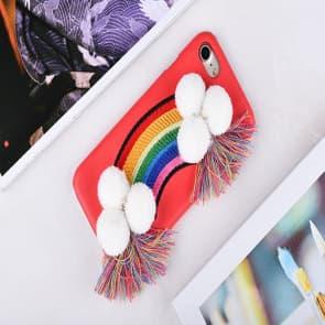 Rainbow Fabric iPhone 6 6s Plus Case