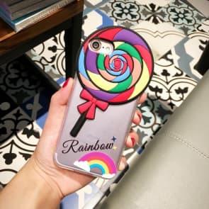 Rainbow Lollipop Case for iPhone 6 6s Plus