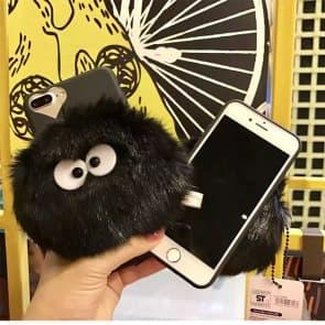 Furry Totoro Dust Bunny iPhone 6 6s Plus Case