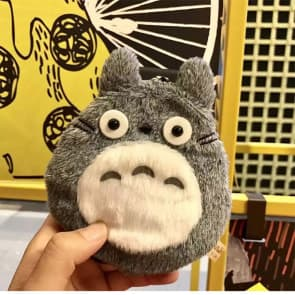 Furry Totoro Doll Case for iPhone 6 6s Plus