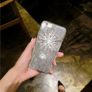 Sparkly Girl Glitter Bling Case for iPhone 7 Plus