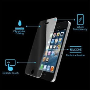 Slim Premium Tempered Glass Screen Guard Protector GLAS.tR for iPhone 5 5s 5c