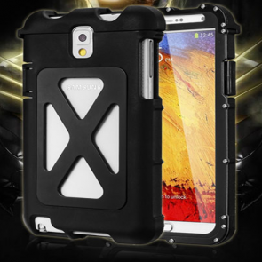 Armor King Aluminum Metal Brushed Stainless Steel Case for Samsung Galaxy S5