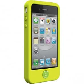 SwitchEasy Colors Lime Silicone Case for iPhone 4