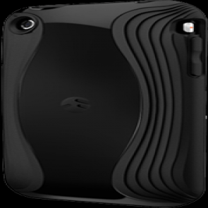 SwitchEasy Black Torrent Hybrid Shell Cover for iPhone 3G/3GS