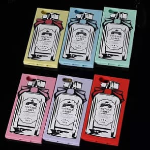 Vintage Label Classic Perfume Bottle Silicone Candies iPhone 6 4.7 Case