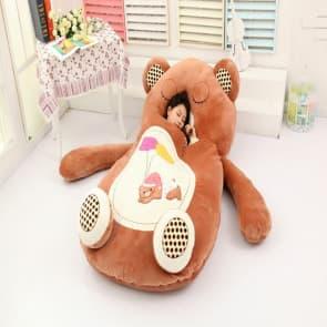 Giant Bear Plush Pillow Bed 200cm 6.5ft