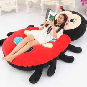 Giant Ladybug Plush Pillow Bed 200cm 6.5ft