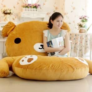 Giant Rilakkuma Plush Pillow Bed 200cm 6.5ft